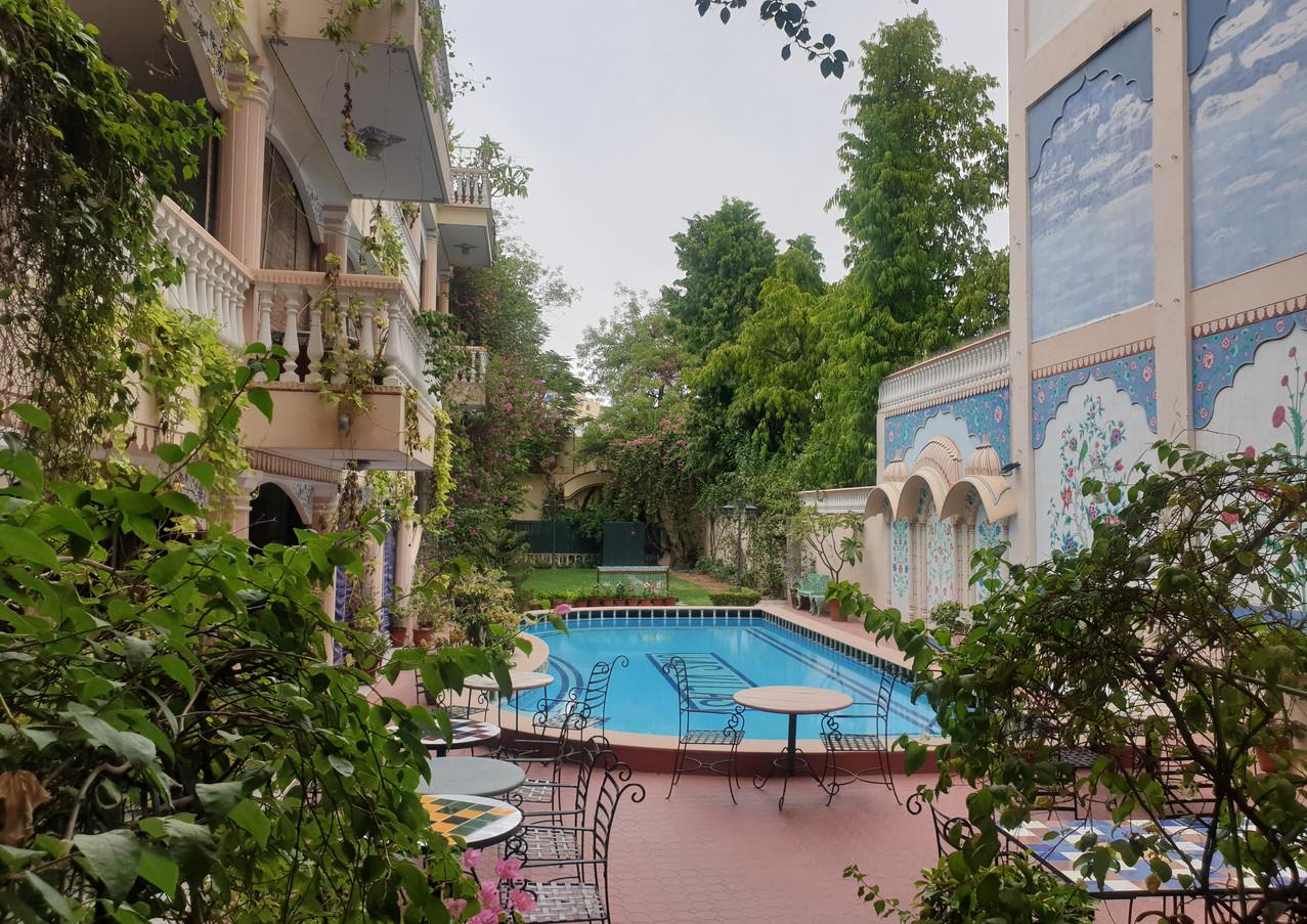 Green Exterior View, Jas Vilas, Jaipur