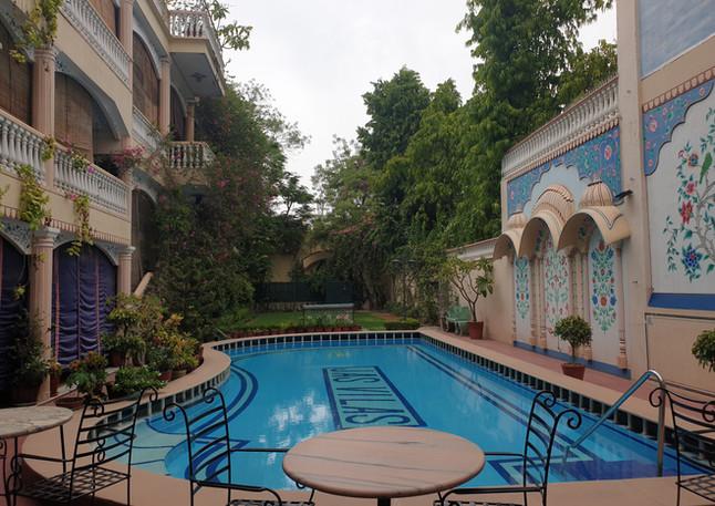 Pool Side, Jas Vilas Jaipur