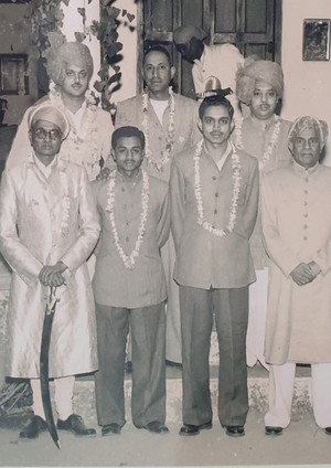 Kr Raghuraj Singhji Rawat Sangram Singhji Kr Mandata Singhji Kr Nahar Singhji Thakur Sahib Badnore And MK Briraj Singhji Kotah