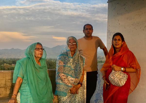Ghanerao Family - Thakur Khem Singh and Mummy