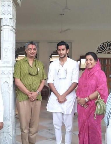 His Highness Padmanabh Singh of Jaipur