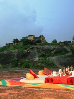 Dinner at Deogarh Khayyam Rock (1).jpg