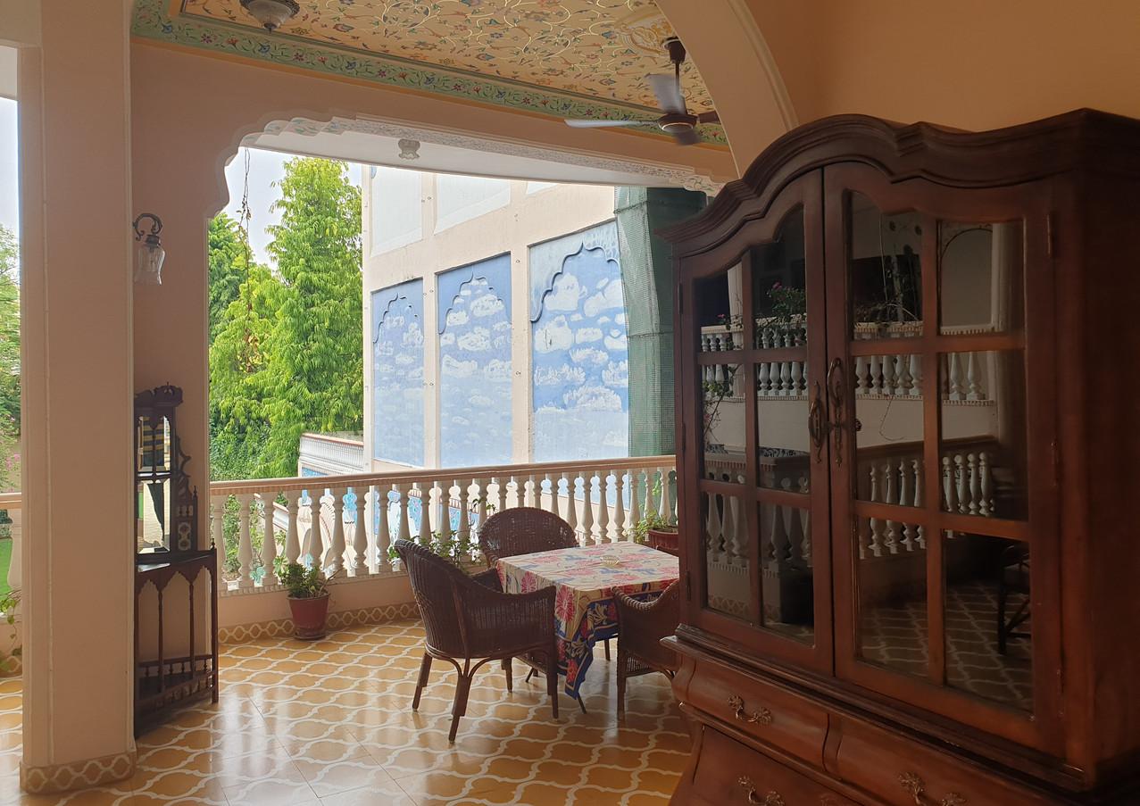 Heritage Room Sitting Area, Jas Vilas Jaipur