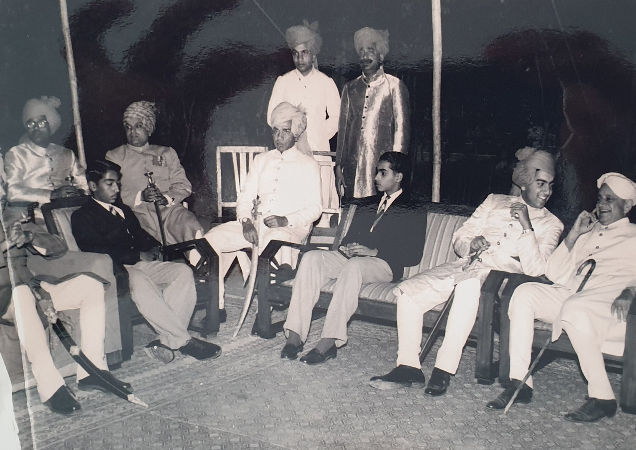 MK Mahendra Singhji Mewar and MK Brijraj Singhji Kotah