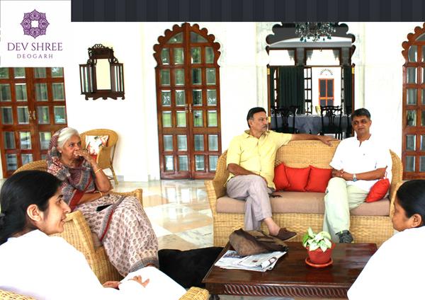 Shalini Bahin with Suresh Uberio