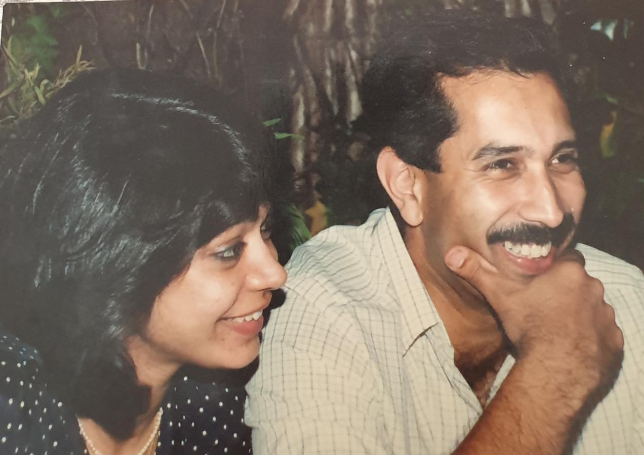 Maharaj Karan Singhji of Idar with Baisa Aradhana Kumari Deogarh