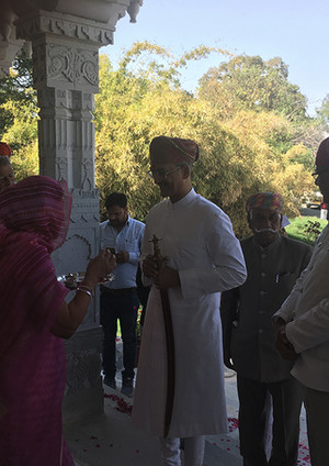 Mk Mewar Visits us