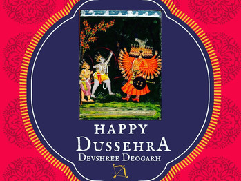 Happy Dussehra to all