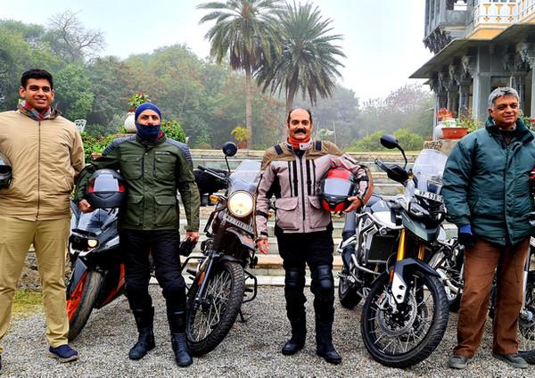 Vikramaditya Singh Kashmir is with Shatrunjai Singh Deogarh and Khem Singh