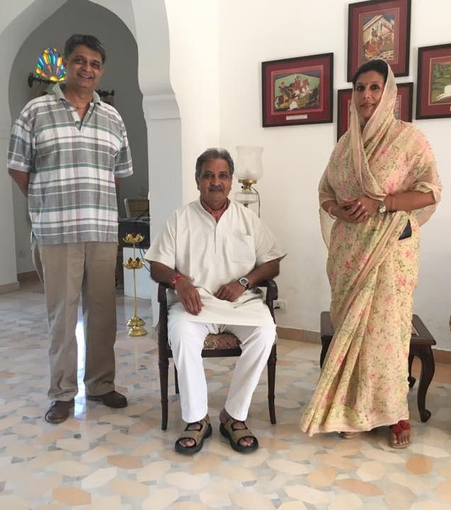 Maharaja Gaj Singhji 's visit