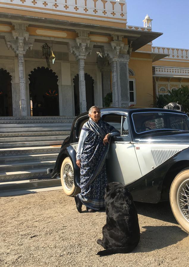 Mummy enjoys the Jaguar with Mickey