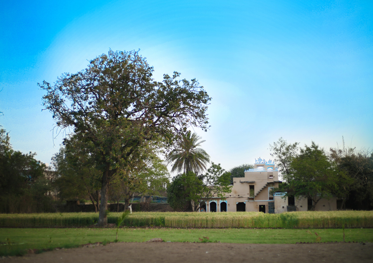 Barabagh Deogarh exterior grounds