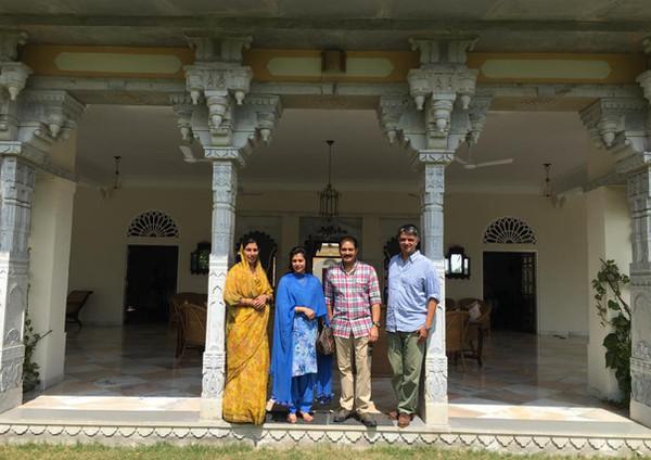 Yuvraj Vikramaditya and Yuvrani Chitrangada Kumari Kashmir