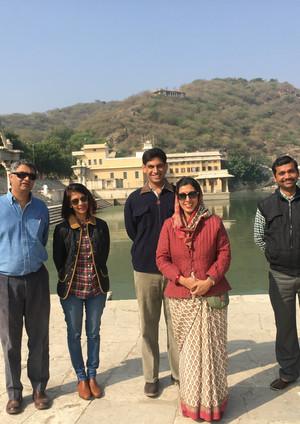 Aradhana Jija visits us