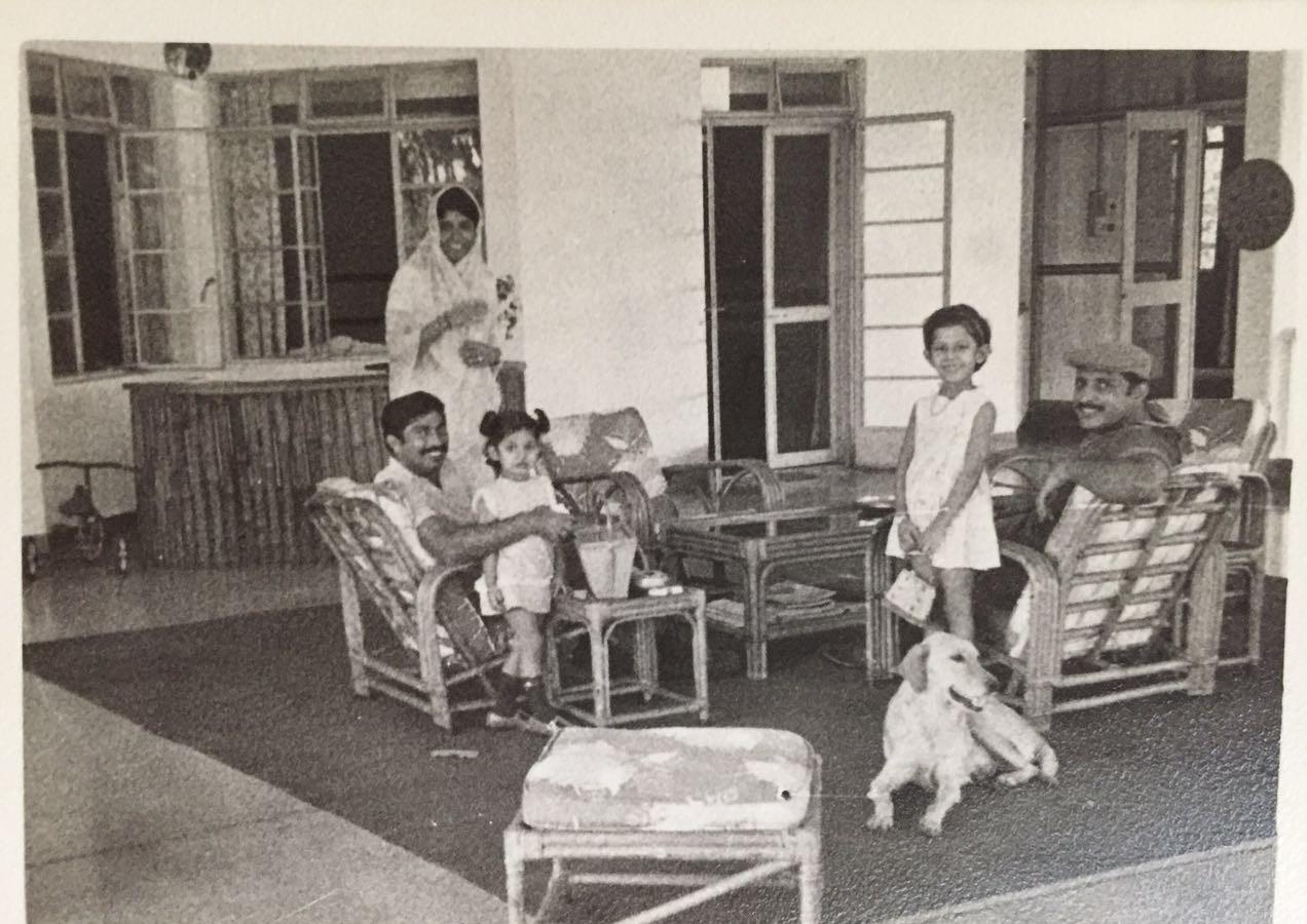 Bhavna and Thakur Pushpendra singhji with Thakur Mahaveer singhji