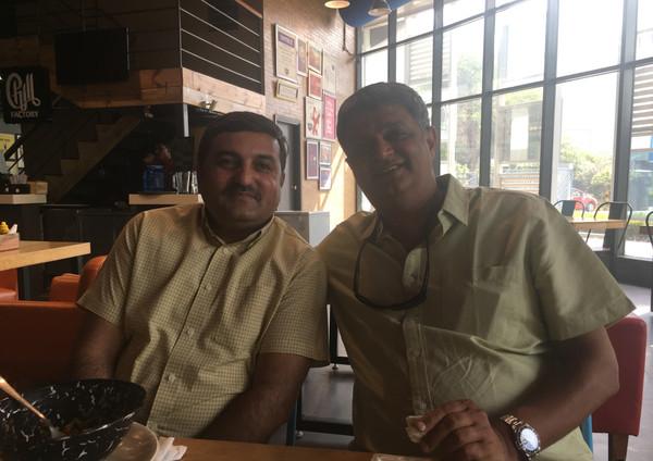 with Jitender Sharma