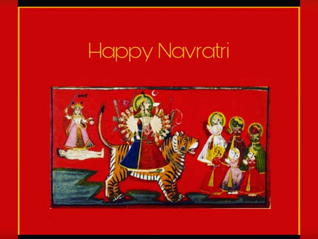 Happy Navratri from the House of Deogarh
