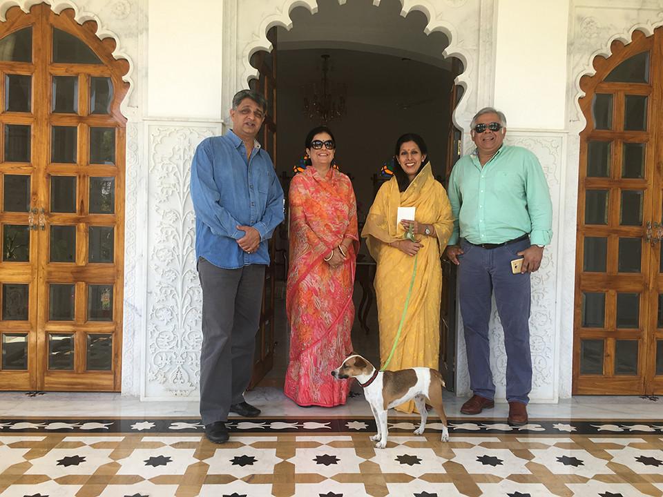 Thakur and Thakurani Sidharth and Rasmi kumari Rohetgarh