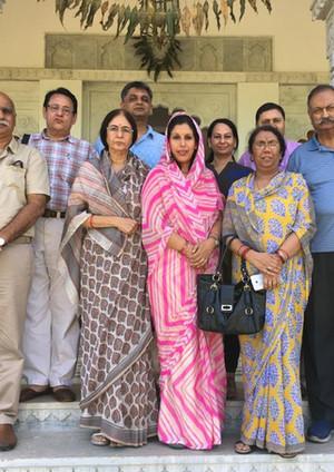 Visit of Thakur Kesri Thakur Randhir Vikram  Singhji Mandawa
