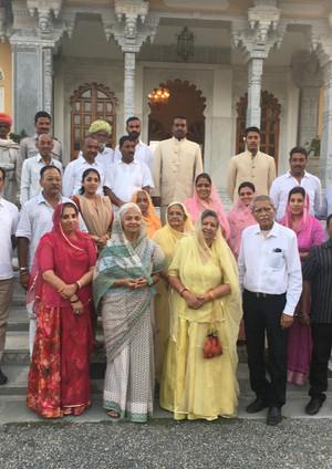 Welcome Party of Maharana Sahib