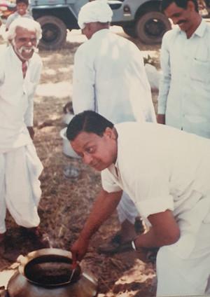 My training of Farm Cuisine by Th  Mandhata Singhji