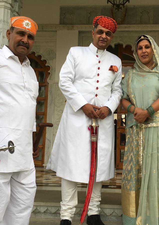 With Gordhan Singhji Bapu