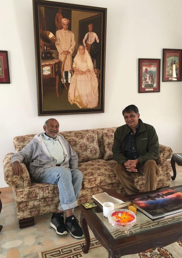 Mr S R Das ex Principal - Mayo Sanawer and Doon School