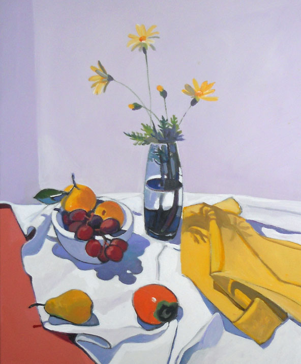 Still Life with Wildflowers