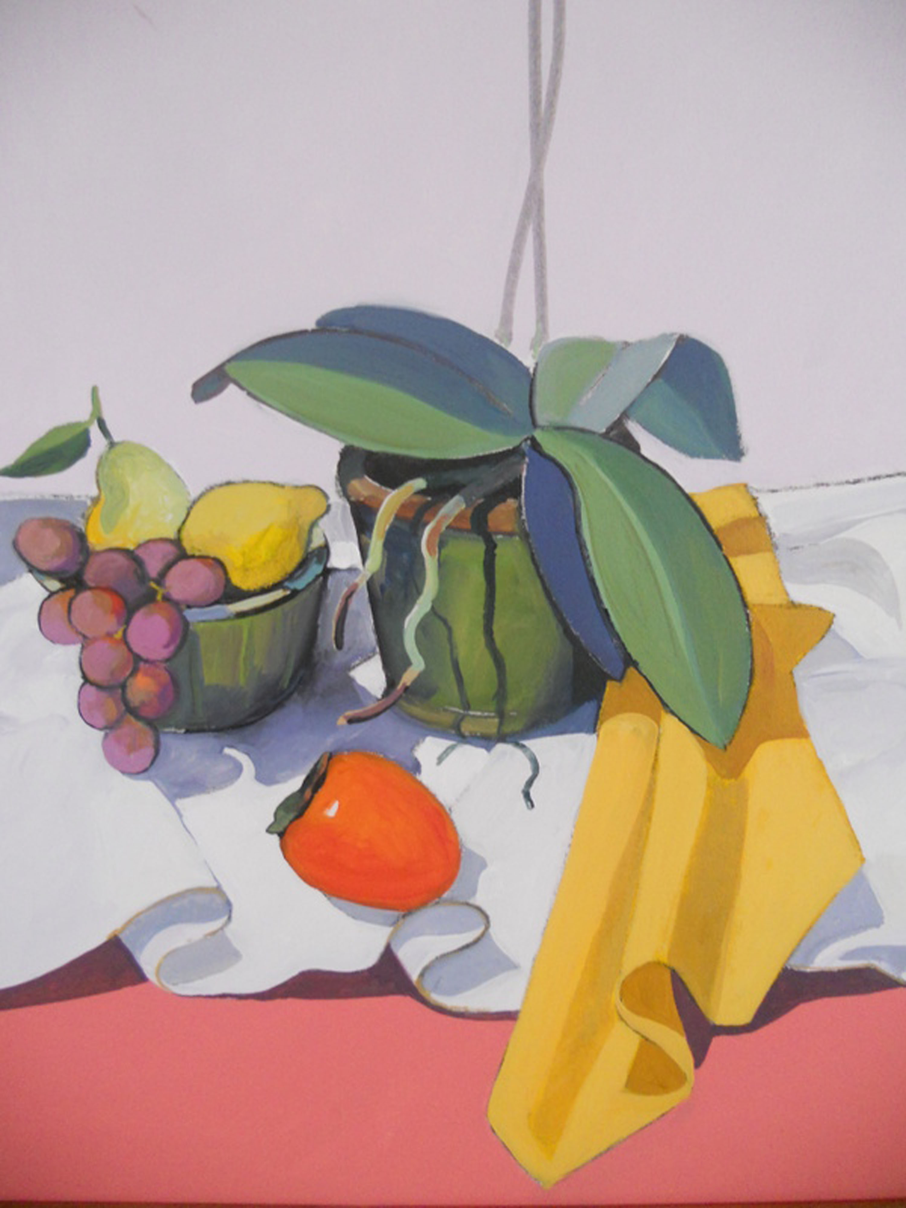Still Life with Fruit Bowl