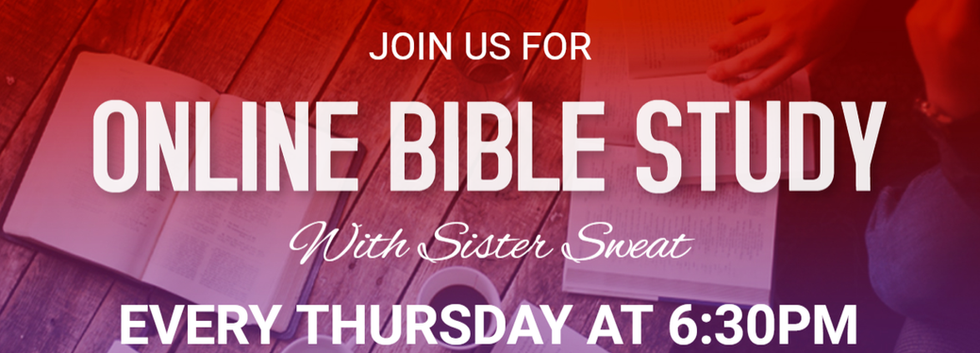 Bible Study with Sister Sweat