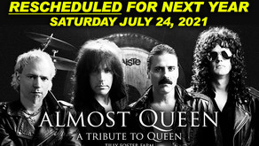 Almost Queen Rescheduled at Tilly Foster Farm - Saturday, July 24, 2021