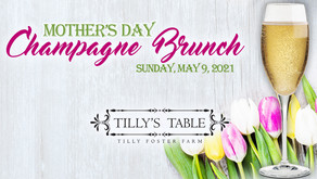 Celebrate Mom this Mother's Day with a Champagne Brunch at Tilly's Table.