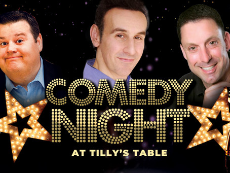 A Night of Barn Comedy at Tilly's Table on Sat. March 27th