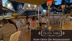 Tilly's Table in Brewster is Now Open on Wednesday Evenings for Dinner