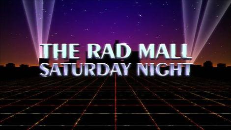 The Rad Mall Saturday Night logo 2021.jp