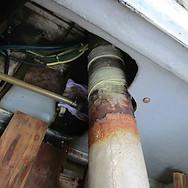 船舶のマフラー修理.JPG