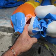 ドラゴンボート修理.jpg