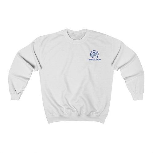 Unisex Heavy Blend™ Crewneck Sweatshirt - Loaves & Fishes