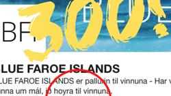 So rundaði BLUE FAROE ISLANDS, teir 300 fylgjarunum á LinkedIn 🥳😎