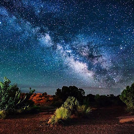 The Dark Skies of Moab, UT_Captured at t