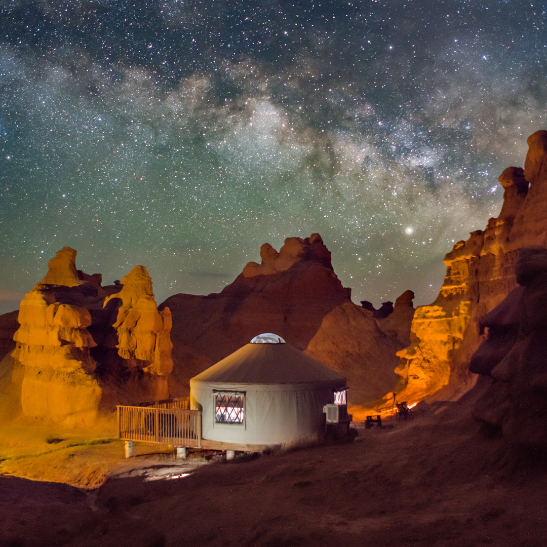Goblin Valley Milky Way Yurt.jpg