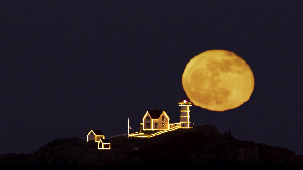 Nubble Lighthouse Full Moon Photography Workshop
