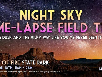 Pre-NAB Valley of Fire Time lapse Photography Field Trip