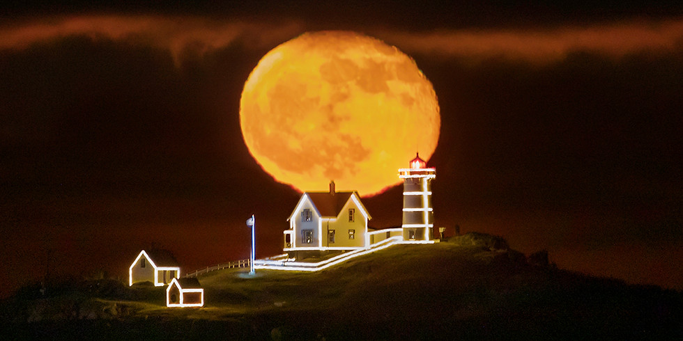 "Super ""Wolf"" Full Moon & Blood Moon Lunar Eclipse (South of Boston)"