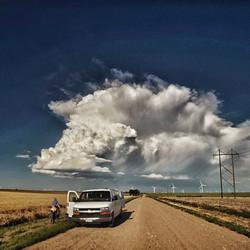 Storm Chasing Van