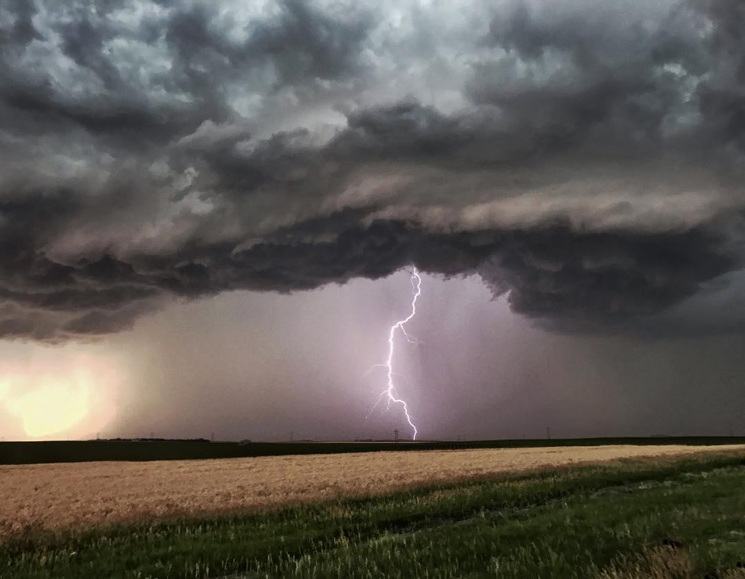 Lone Lightning Strike