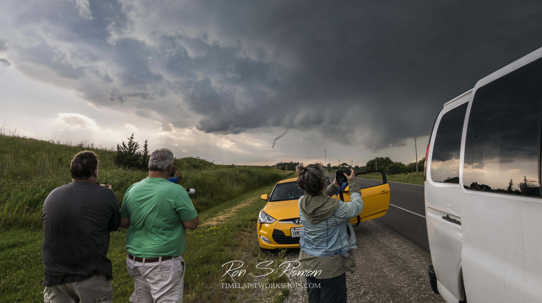 Filming a Tornado