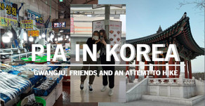 Gwangju, Friends And An Attempt To Hike