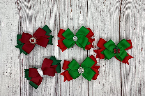 Holiday color boutique bow