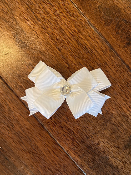 Single color double stack bow